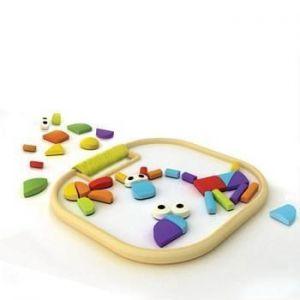 Деревянная магнитная игрушка головоломка Hape Magnetic Animals