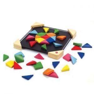 "Деревянная игрушка головоломка на магнитах ""Magnetic Mosaic"""