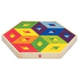 Деревянная мозаика головоломка HAPE Mosaic Puzzle