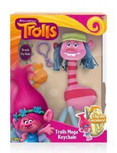 Мягкая игрушка с клипсой Тролли Cooper