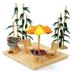 """Деревянная игрушка набор мебели """"ECO Garden Set"""""""