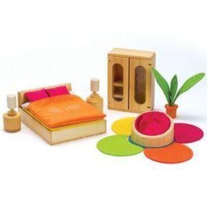 Деревянная игрушка Hape набор мебели Lifestyle Bedroom