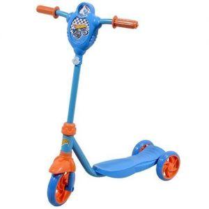 Скутер детский лицензионный HOT WHEELS (3-х колесный, пропеллер)