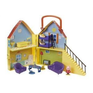 Игровой набор Свинка Пеппа - ДОМ ПЕППЫ (домик с мебелью, фигурка Пеппы)