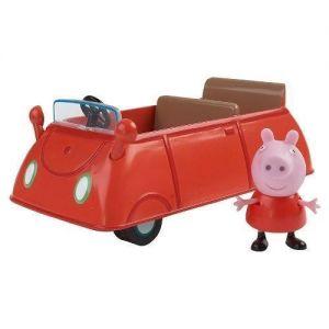 Игровой набор Свинка Пеппа  - МАШИНА ПЕППЫ (машинка, фигурка Пеппы)