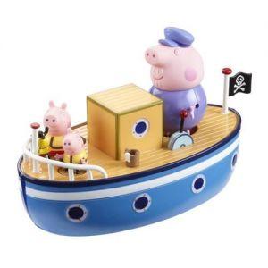 Игровой набор Свинка Пеппа - МОРСКОЕ ПРИКЛЮЧЕНИЕ (кораблик, 3 фигурки)