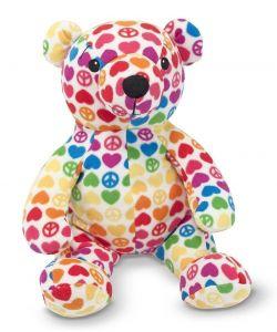 Мягкая игрушка Медведь Hope, Beeposh Hope Bear 36x31x28 см