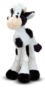 Мягкая игрушка Длинноногая Коровка 32 см Melissa & Doug