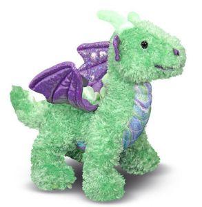 Мягкая игрушка Дракоша Зефир 25 см Melissa & Doug