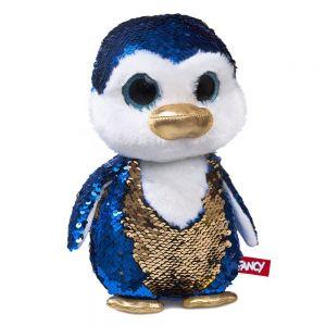 Мягкая игрушка Пингвинчик Сапфир с пайетками FANCY 23 см