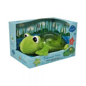 Детский звуковой ночник Лягушка Tranquil Frog