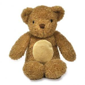 Мягкая звуковая игрушка-ночник Мишка Ириска, Glow Cuddles Bear - Toffee
