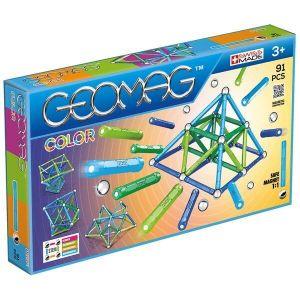Магнитный конструктор Geomag Color, 91 деталь