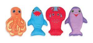 Морские игровые губки, в ассортименте Melissa & Doug цена за 1 шт