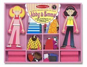 Магнитная одевалка Эбби и Эмма Melissa & Doug MD4940