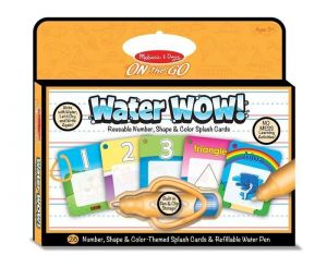 Волшебная водная раскраска Цифры, формы, цвет Melissa & Doug