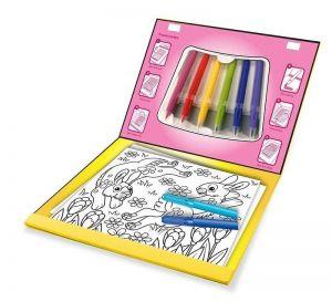 """Волшебный набор для девочек """"Раскраска, наклейка, трафарет"""" Melissa & Doug"""