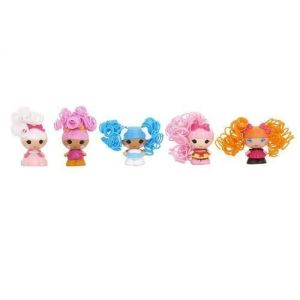 Набор с куклами КРОШКАМИ  LALALOOPSY серии Кудряшки-симпатяшки - ЛУЧШИЕ ПОДРУЖКИ (5 кукол)