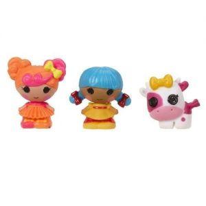 Набор с куклами КРОШКАМИ LALALOOPSY КАРАМЕЛЬКА И СКАЗОЧНИЦА (2 куклы, питомец)