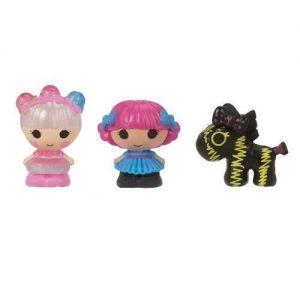 Набор с куклами КРОШКАМИ LALALOOPSY МЕРЦАЮЩАЯ ФЕЯ И ПАРИЖАНКА (2 куклы, питомец)