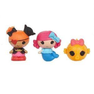 Набор с куклами КРОШКАМИ LALALOOPSY РУСАЛОЧКА И ПИРАТКА ПЭГГИ (2 куклы, питомец)