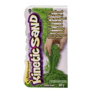 Песок для детского творчества - KINETIC SAND COLOR (зеленый, 680 г)