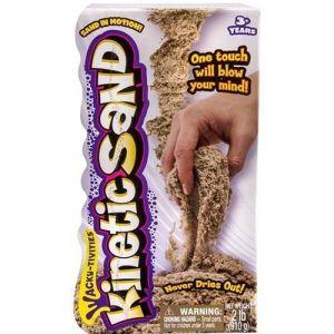 Песок для детского творчества - KINETIC SAND ORIGINAL (натуральный цвет, 910 г)