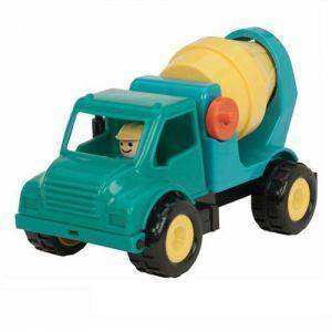 Игрушка БЕТОНОМЕШАЛКА - Первые машинки (с фигуркой водителя)