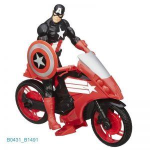 Титаны: Фигурки Мстителей (30 см) на транспортном средстве (в ассорт.)