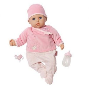 Интерактивная кукла MY FIRST BABY ANNABELL - НАСТОЯЩАЯ МАЛЫШКА (36 см, с аксессуарами, озвучена)