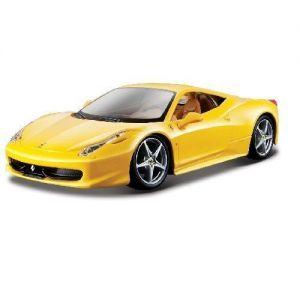 Автомодель FERRARI 458 ITALIA (ассорти желтый, красный, 1:24)