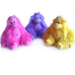 Мягкая игрушка - МАКАКА С ВЕНОЧКОМ (муз., 21.5 см)