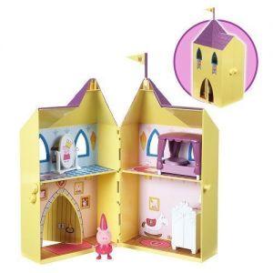 Игровой набор Peppa серии Принцесса ЗАМОК ПЕППЫ (замок с мебелью, фигурка Пеппы)