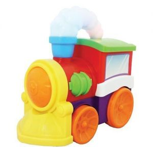 Kiddieland Развивающая игрушка - МУЗЫКАЛЬНЫЙ ПАРОВОЗ (на колесах, свет, звук)