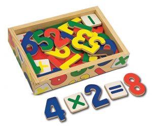 Магнитные деревянные цифры Melissa & Doug MD449