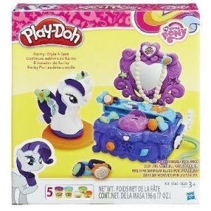 Play-Doh Игровой набор Туалетный столик Рарити Hasbro