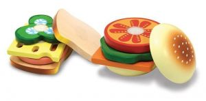 """Деревянный набор """"Сэндвич"""" Melissa & Doug"""