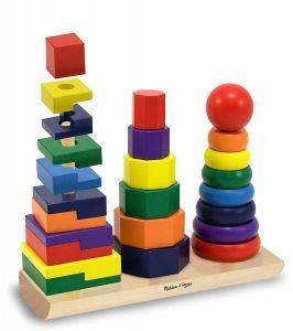 Пирамидка геометрическая Melissa & Doug MD567