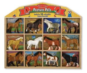Конюшня - фигурки лошадей Melissa & Doug MD10592