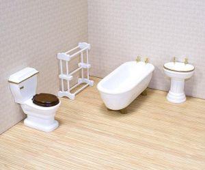 Melissa & Doug Мебель для ванной комнаты Викторианского Домика MD2584
