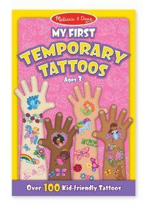 Melissa & Doug Мои первые временные татуировки, 100 шт., розовые MD2946