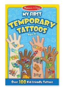 Melissa & Doug Мои первые временные татуировки, 100 шт., голубые MD2947