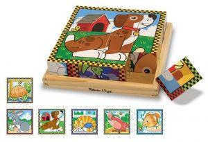 """Кубики """"Домашние животные"""" Melissa & Doug MD3771"""