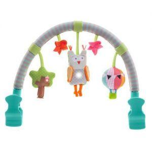 Музыкальная дуга для коляски ЛЕСНАЯ СОВА (звук, свет) Taf Toys