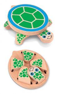 Деревянная игрушка Melissa & Doug Поиграй в прятки с черепашкой MD4029