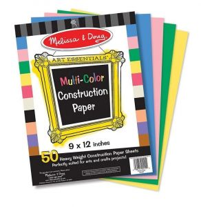 Цветная бумага для аппликаций Melissa & Doug