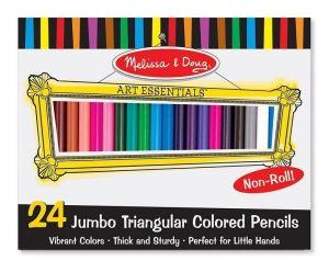 Цветные карандаши (24 цвета) Melissa & Doug