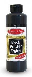 Гуашь черная, 237 мл Melissa & Doug