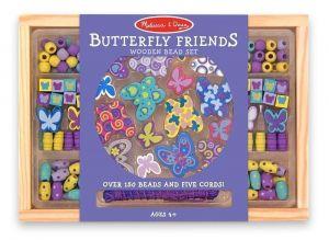 Набор бусинок Бабочки Melissa&Doug