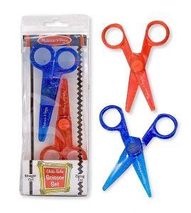Набор ножниц зигзагообразные и обычные (2 штуки) Melissa & Doug